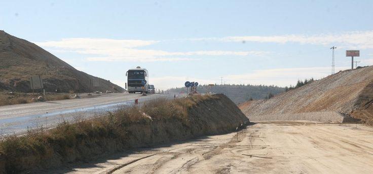 Gazlıgöl yolu, yıl sonuna kadar bitecek