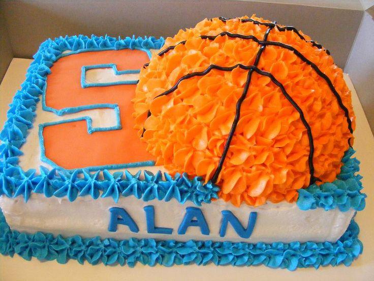 Saracus basketball cake