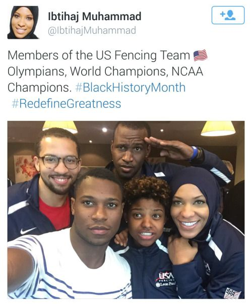 Members of the USA Olympic Fencing Team