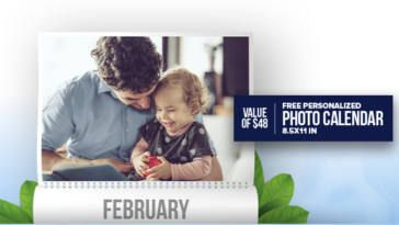 FREE Personalized Photo Calendar from Oasis on http://www.canadafreebies.ca/