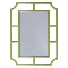 Worlds Away Marian Green Mirror