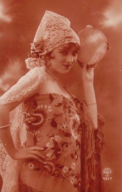 bohemian woman  Gypsy