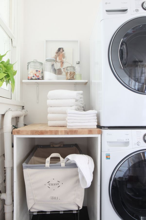 5 Tips to Organizing your Laundry Room | Smelly Towels? | Stinky Laundry? | Washer Odor? | http://WasherFan.com | Permanently Eliminate or Prevent Washer & Laundry Odor with Washer Fan™ Breeze™ | #Laundry #WasherOdor #SWS