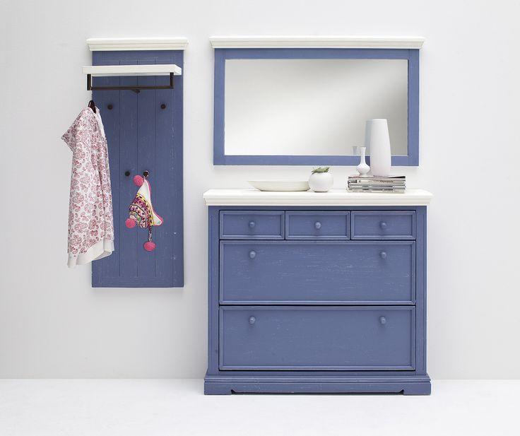 schuhschrank lamer ii brilliantblau passend zum. Black Bedroom Furniture Sets. Home Design Ideas