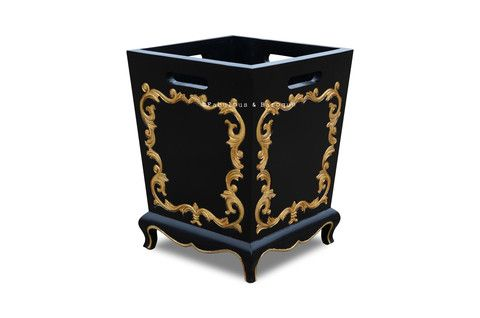 14 best gold or coal both images on pinterest modern for Plastic baroque furniture