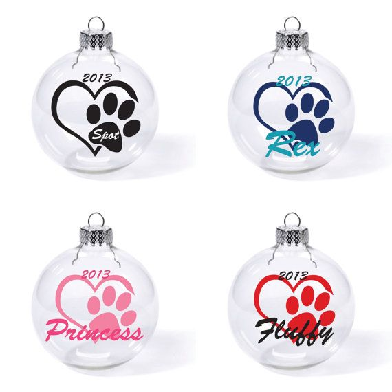 I love my Dog/Cat Ornament by DomoniquesDen on Etsy, $4.50