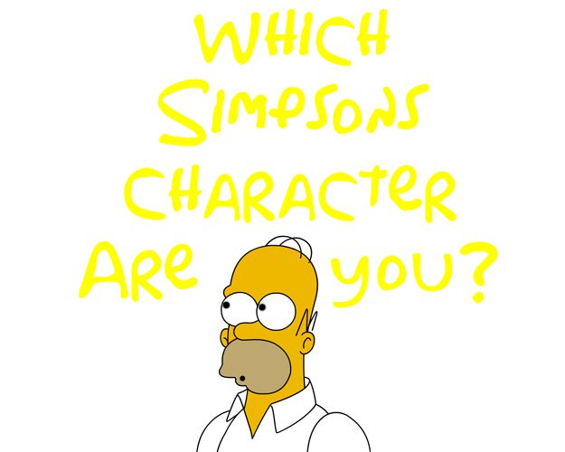 Which Simpsons Character Are You? I'm Milhouse. Not sure if that's a bad thing.