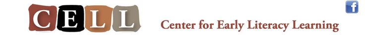 Parent Practice Guides | Center for Early literacy Learning : CELL