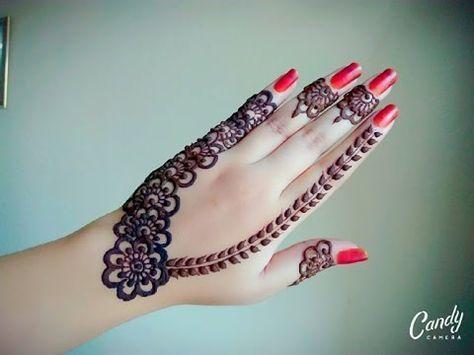 Arabic Henna | Henna Tutorial | Gulf Style Henna | Tattoo Henna | Flower Mehnd - Naush Artistica - YouTube