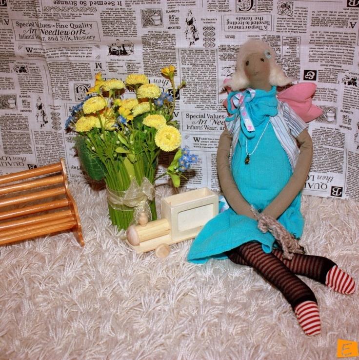 Куклы - Тильда Беременный Ангел   Eksklyuziff.com