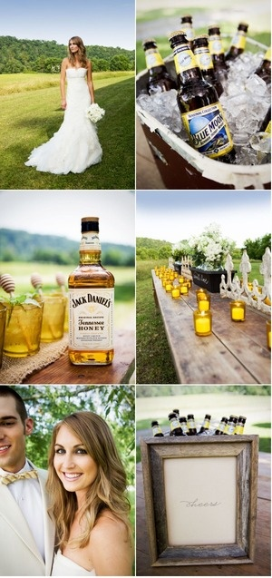 American Honey wedding theme