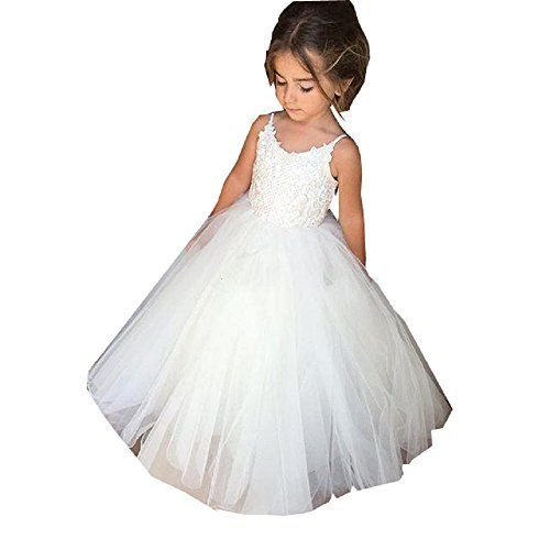 GU ZI YANG White Communion Dresses Lace Tulle Ball Gowns ... https://www.amazon.com/dp/B06VV8G3W8/ref=cm_sw_r_pi_dp_x_D-yXybKWT951W