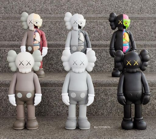 KAWS Companions To Launch Oct 20th for #WhereTheEndStartsMore Pins Like This At FOSTERGINGER @ Pinterest