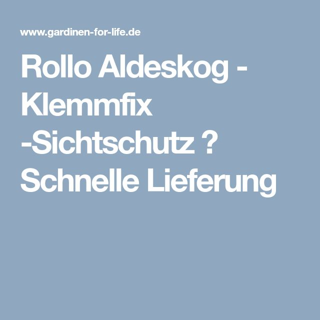 Gardinen-for-life.de (gardinenforlifede) auf Pinterest