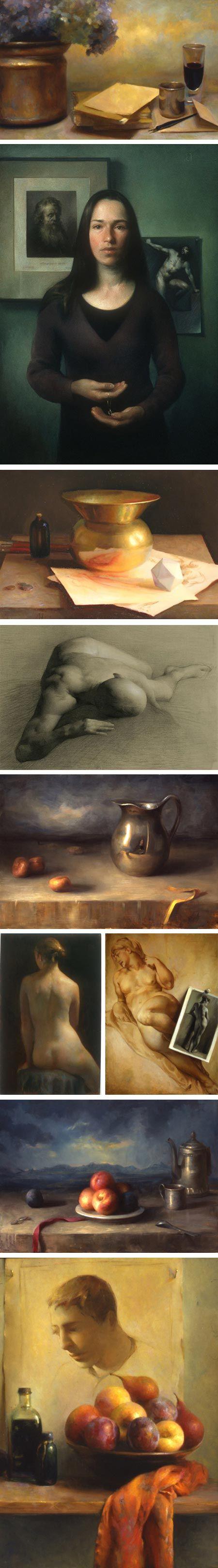 Juliette Aristides. My favorite contemporary realist artist & teacher. http://www.aristidesarts.com