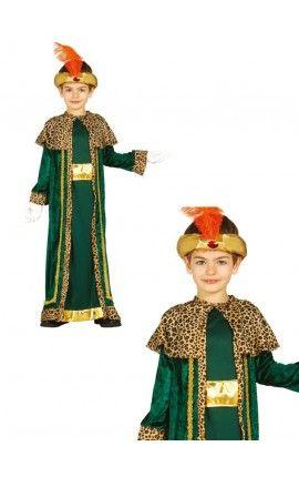 disfraz de rey mago baltasar para nio