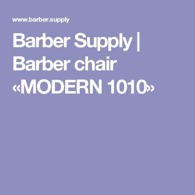 Barber Supply   Barber chair «MODERN 1010»