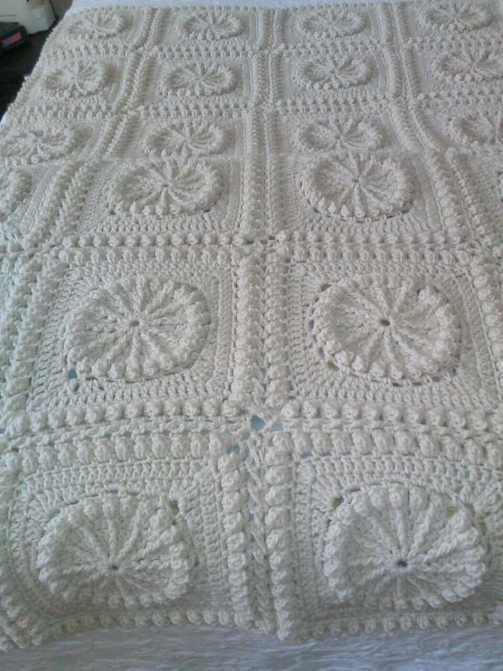 How To Crochet A Bedspread In One Day