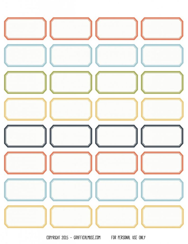 17 Best ideas about Label Stickers on Pinterest   Printable labels ...