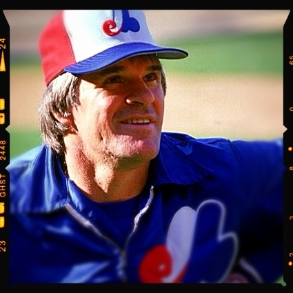 Pete Rose. 1984 Montreal Expos.