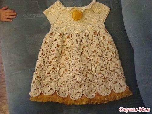 В этом платье мы праздновали годик. - Вязание для детей - Страна Мам