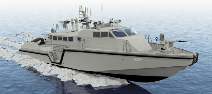 Safe Boats International is poised to deliver the first Mk VI PB in the fourth quarter of 2014. Armed with two remotely-operated 25 mm guns, this 85 ft vessel could eventually field a lightweight surface-to-surface missile system. (Safe Boats)