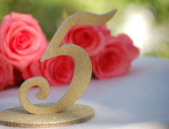 25 Best Ideas About Glitter Wedding Centerpieces On