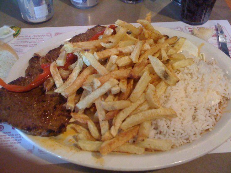 #Portuguese Steak! Reminds me of Academica in Fall River, MA...
