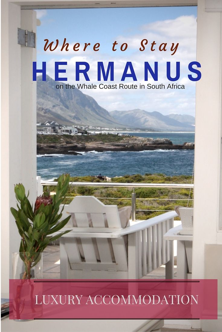 Discover the best accommodation establishments in Hermanus. Hermanus Accommodation / Hermanus hotels, guest houses, bed and breakfast, and self catering.