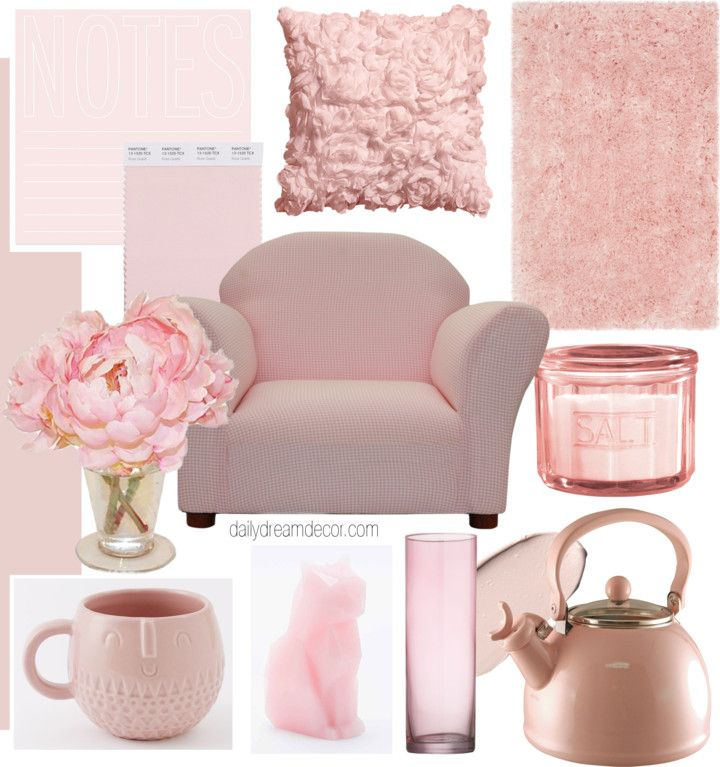 10 Rose Quartz Decor items under $50 (Daily Dream Decor)
