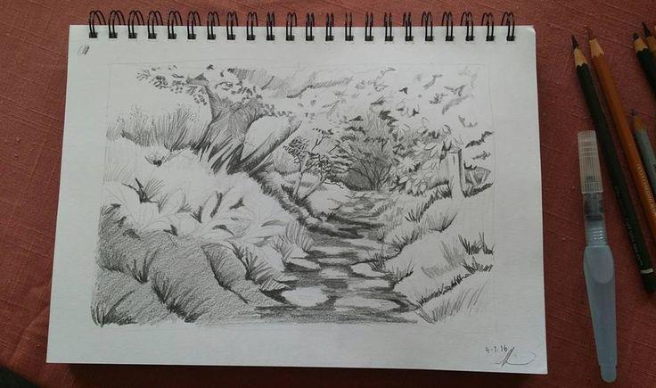 Up the Garden Path - Graphite