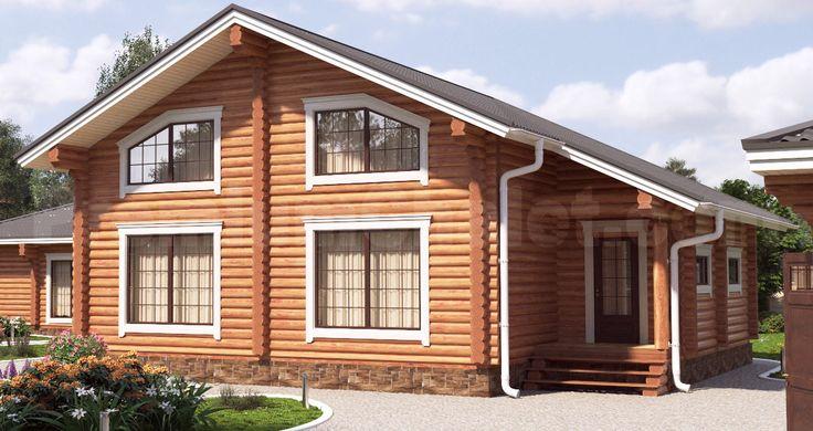 Проект деревянного дома — Подмосковная Сказка — ПС-234