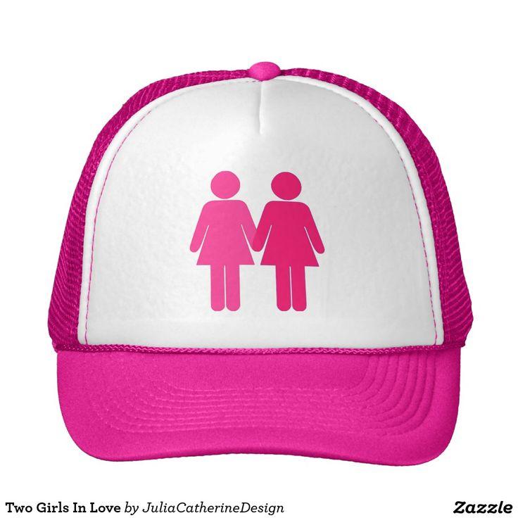 Two Girls In Love Trucker Hat