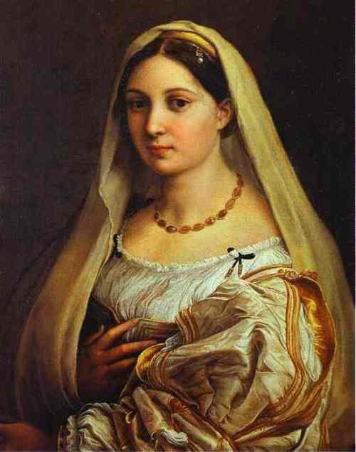La Donna Velata (The Woman with the Yellow Veil) - Raphael, 1516