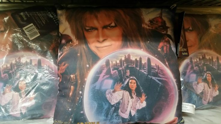Mojoverse just got in stock Labyrinth Pillows featuring Jim Henson's classic 1980s movie! Officially licensed and beautifully made!