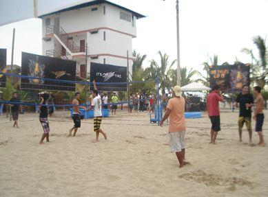 Cancha de Voley Playa