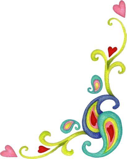 Bordes para tarjetas de flores-Imagenes y dibujos para imprimir