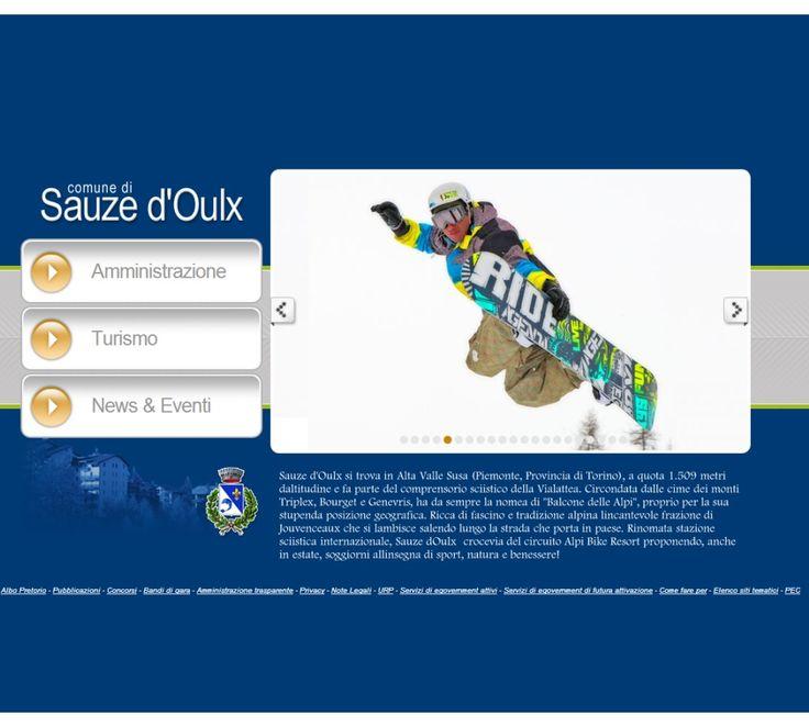 Comune di Sauze d'Oulx www.comune.sauzedoulx.to.it #GovCube