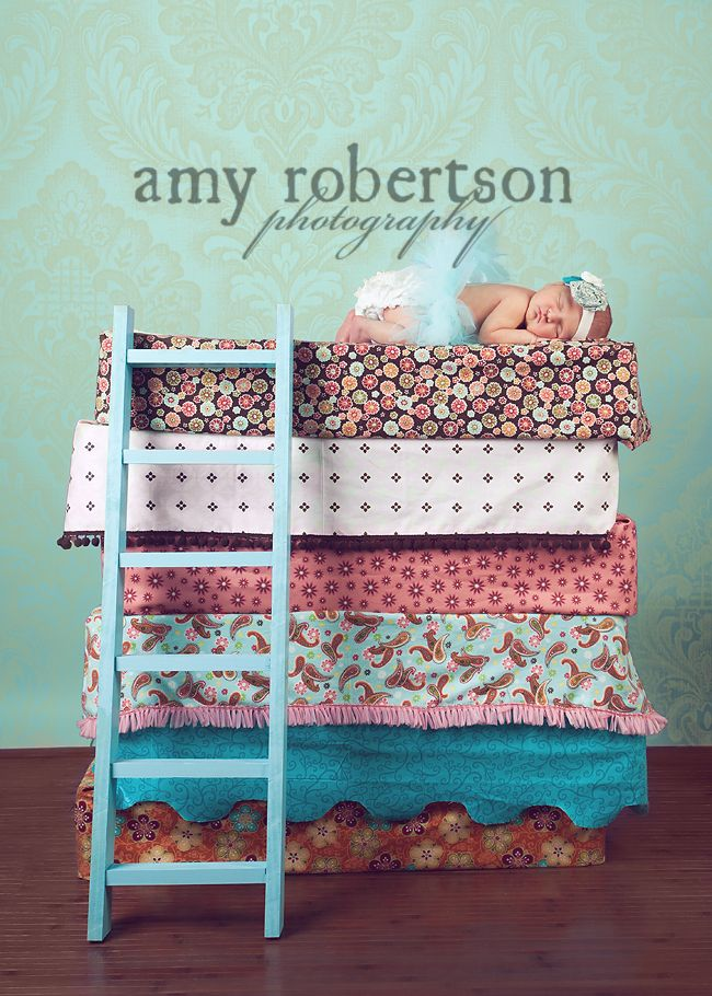 The Princess & The Pea inspiration...