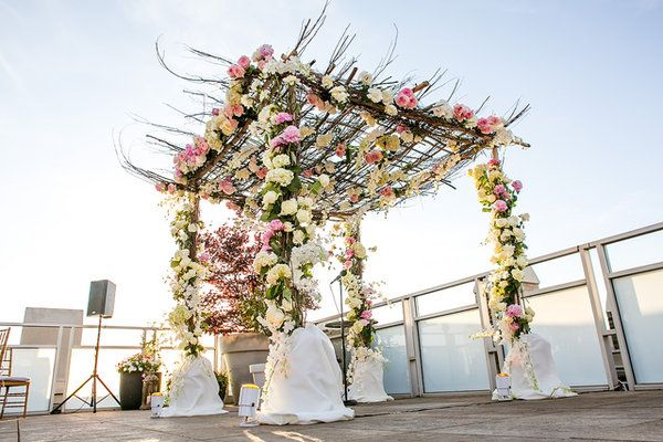 Beautiful Outdoor Wedding Ceremony At Tribeca Rooftop: 10+ Images About Tent / Canopy Party On Pinterest