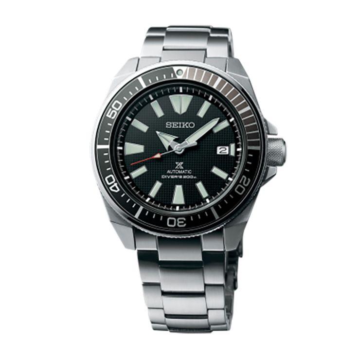Ανδρικό ρολόι SEIKO SRPB51K1 Prospex Automatic Diver's 200 με μαύρο καντράν, ημερομηνία και μπρασελέ | ΤΣΑΛΔΑΡΗΣ στο Χαλάνδρι #seiko #automatic #divers #prospex #μπρασελε #tsaldaris