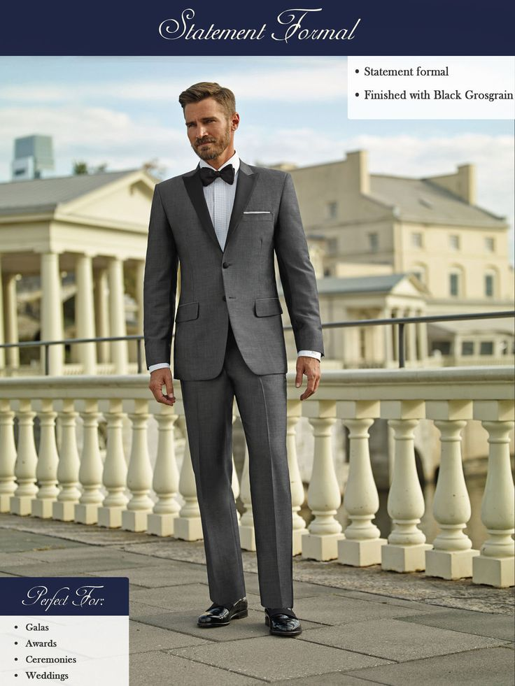 Gray Tux! #Wade #Anding #Milwaukee #Clothier #Custom #Tailored #Suits #Bespoke #Suits #Custom #Tailored #Shirts #Ties #Allen #Edmonds #Jeans #Topcoats #Custom #Tuxedos #Dinner #Jackets #Jeans 262-770-5127