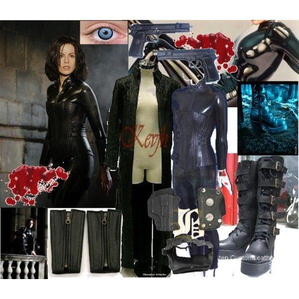 """""""EXACT!! Selene From Underworld Costume"""" by vintagevampire19-dear-porcelain on Polyvore"""