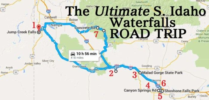 Idaho-Waterfalls-South - The ultimate waterfall road trip