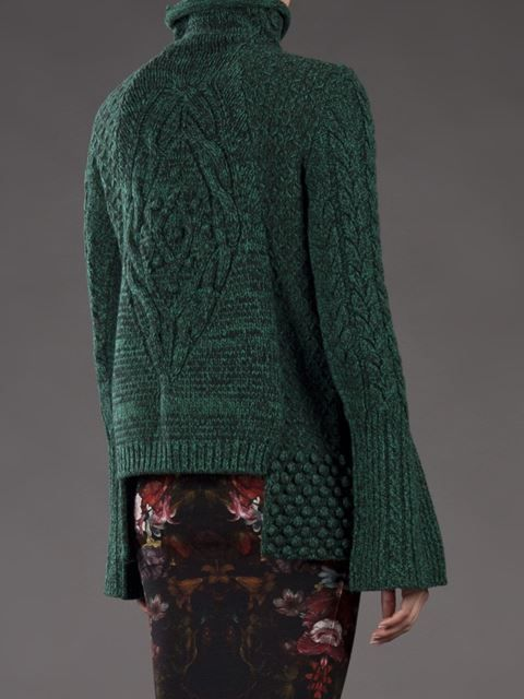 Alexander Mcqueen Chunky Cable Sweater - - Farfetch.com