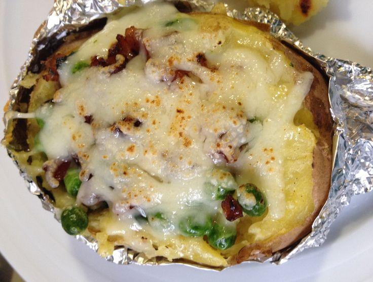 Patatas rellenas al horno sin gluten paso a paso