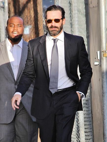 Though he's about to undergo throat surgery, Jon Hamm keeps things moving as he makes his way around L.A. http://www.people.com/people/gallery/0,,20738880,00.html