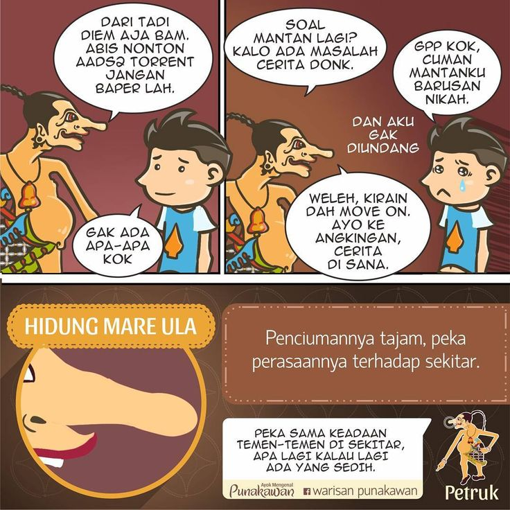 Gegojekan & pekok2an sama temen boleh2 aja sob, tapi kadang ada waktunya temen butuh kita di saat sedih/susah.  #warisanpunakawan #punakawan #heritage #wayang #wayangkulit #budaya #culture #puppet #shadowpappet #semar #gareng #petruk #bagong #indonesia #jogja #kampanyebudaya #budayaindonesia #java #character #design #boy #komik #comic #komikstrip