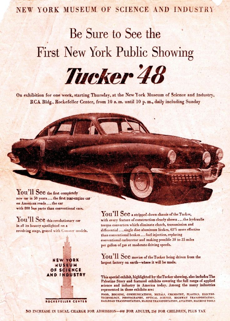 612 best Tucker Automobiles images on Pinterest | Autos, Cars and ...