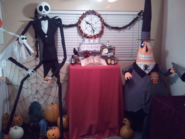 nightmare before christmas props by kam3153deviantartcom on deviantart - Halloween Props For Sale